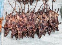 Roasted rats on  Market Royalty Free Stock Photos