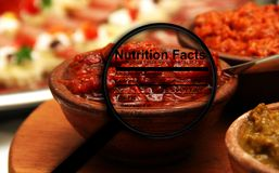 Roasted Red Pepper Sauce Royalty Free Stock Image