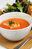 Roasted Red Pepper Soup Stock Photos