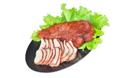 Free Roasted Red Pork Royalty Free Stock Images - 108466769