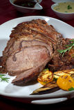 Roasted Rib Eye Royalty Free Stock Images