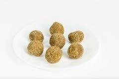 Roasted Rice Balls royalty free stock image