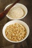 Roasted rice Stock Photo