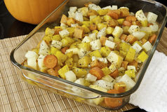 Roasted Root Vegetables Royalty Free Stock Photography