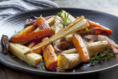 Roasted Root Vegetables Stock Image