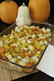 Roasted Root Vegetables with Pumpkins Royalty Free Stock Image