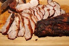 Roasted Saddle Steak Stock Image