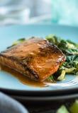 Roasted Salmon Stock Photos