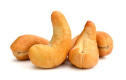 Roasted and Salted Cashew Nuts Royalty Free Stock Photos