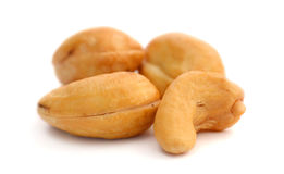 Roasted and Salted Cashew Nuts Royalty Free Stock Images