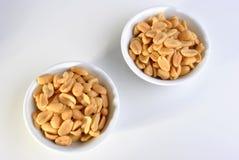 Roasted salted peanuts Stock Photos