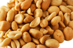 Roasted and salted peanuts Royalty Free Stock Photography