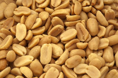 Roasted and salted peanuts Stock Image
