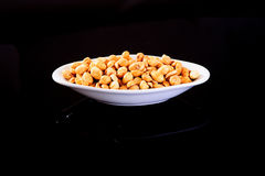 Roasted Salted Peanuts Royalty Free Stock Image