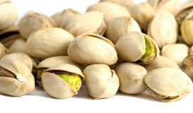 Roasted and salted pistachios Stock Photography