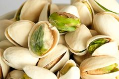 Roasted salted Pistachios Royalty Free Stock Photo