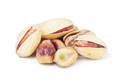 Roasted salty pistachios nuts Royalty Free Stock Images