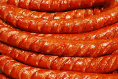 Roasted sausages Royalty Free Stock Photo