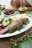 Roasted Seabass Stock Images