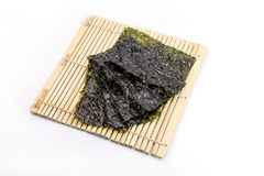 Roasted seaweed snack Royalty Free Stock Images