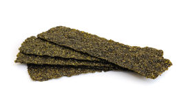 Roasted seaweed snack. Stock Photo