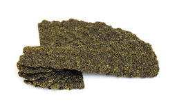 Roasted seaweed snack. Stock Images