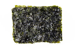 Roasted seaweed snack Stock Photos