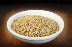 Roasted sesame seeds Royalty Free Stock Images