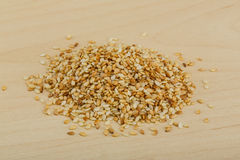 Roasted sesame seeds Stock Images