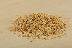 Roasted sesame seeds Royalty Free Stock Photography