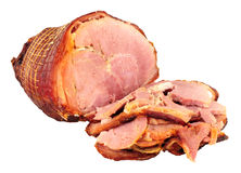 Roasted Smoked Bacon Joint Royalty Free Stock Photography