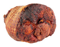 Roasted Smoked Bacon Joint Royalty Free Stock Image