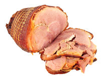 Roasted Smoked Bacon Joint Stock Image