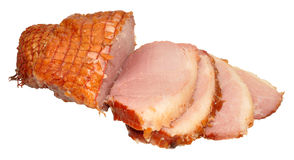 Roasted Smoked Gammon Joint Royalty Free Stock Images