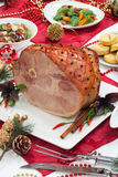Roasted Spiced Ham stock image
