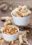 Roasted Spicy Peanuts Royalty Free Stock Image