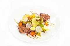 Roasted steak Stock Image