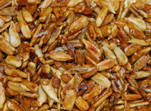 Roasted Sunflower Seeds in Soy Sauce Stock Photo