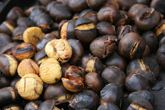 Free Roasted Sweet Chestnuts Stock Photo - 2438690