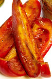 Roasted sweet pepper, seasoning for  dishes. Roasted sweet pepper, seasoning for meat dishes Stock Images