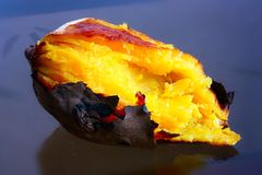 Roasted sweet potato Stock Images