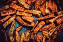 Roasted sweet potato Stock Photo