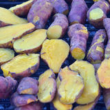 Roasted sweet potato Royalty Free Stock Photography
