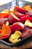 Roasted sweet potatoes Royalty Free Stock Photo