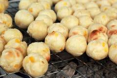 Roasted sweet potatoes asia style Stock Photos