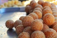 Roasted sweet potatoes asia style Royalty Free Stock Photos
