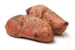 Roasted sweet potatoes Royalty Free Stock Image