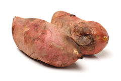 Roasted sweet potatoes Royalty Free Stock Photography