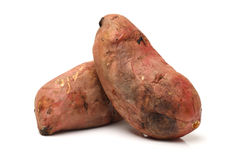 Roasted sweet potatoes Stock Image