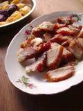 Roasted tenderloin pork fillet Stock Image